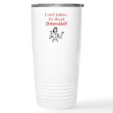 Retro Christmukkah Travel Mug