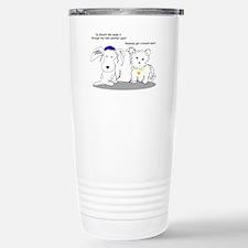Kosher Dogs After Shul Travel Mug