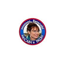 Sarah Palin - ooooo Barracuda Mini Button