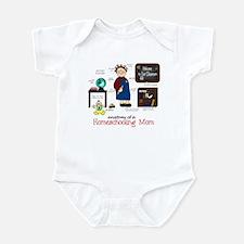 Homeschool Mom Anatomy Infant Bodysuit