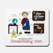 Homeschool Mom Anatomy Mousepad
