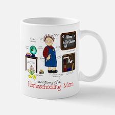 Homeschool Mom Anatomy Mug