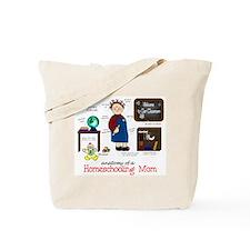 Homeschool Mom Anatomy Tote Bag