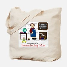 Homeschool Mom Anatomy Tote Bag