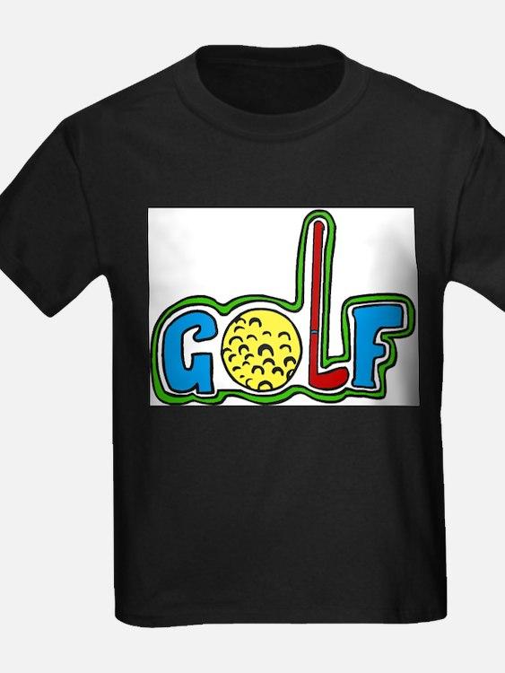 Kids golf t shirts shirts tees custom kids golf clothing for Personalised golf shirts uk