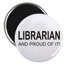 The Proud Librarian Magnet