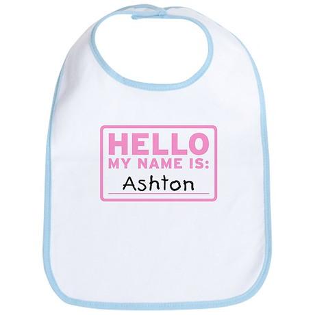 Hello My Name Is: Ashton - Bib