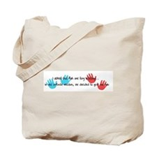 Twins Blessings Tote Bag