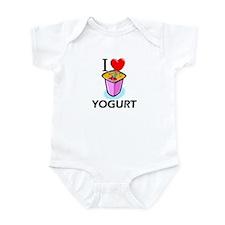 I Love Yogurt Infant Bodysuit