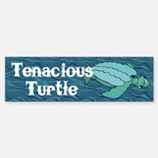 Tenacious Turtle Sticker (Bumper)