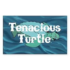 Tenacious Turtle Decal
