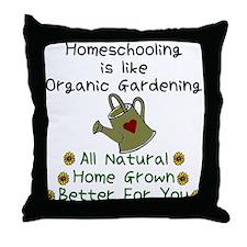 Cute Homeschool Throw Pillow
