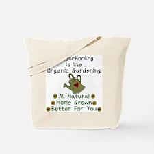 Cute Organic gardening Tote Bag