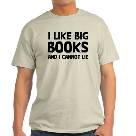 I Big Books Light T-Shirt