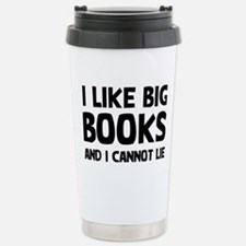 I Big Books Stainless Steel Travel Mug