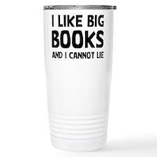 I Like Books Travel Mug