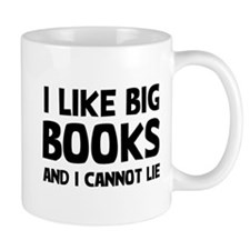 I Big Books Small Mug