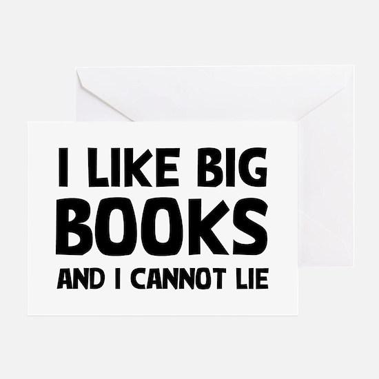 I Big Books Greeting Card