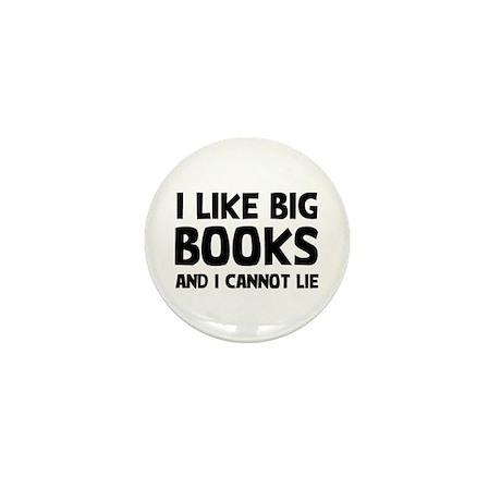 I Like Books Mini Button