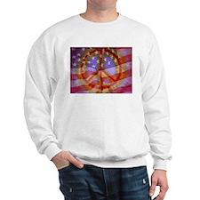 Cute Peace flag Sweatshirt