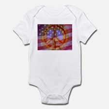 Cute Peace flag Infant Bodysuit