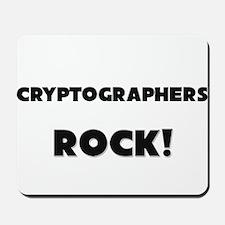 Cryptographers ROCK Mousepad