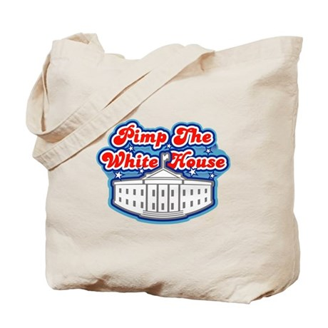 Pimp The White House Tote Bag