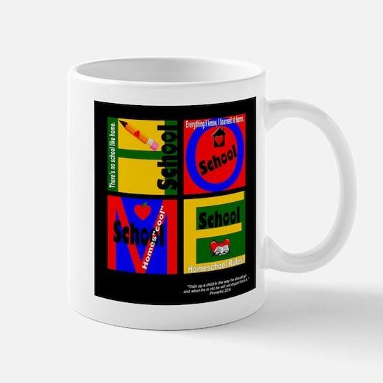 Homeschool Block Mug
