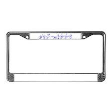 Michelle- bl-asl License Plate Frame