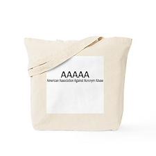 AAAAA Tote Bag