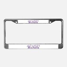Michelle -ch-ppl License Plate Frame