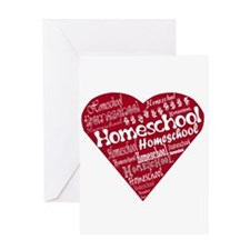 Homeschool Heart Greeting Card