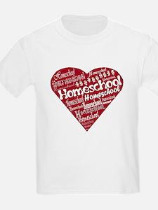 Homeschool Heart T-Shirt