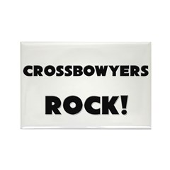 Crossbowyers ROCK Rectangle Magnet