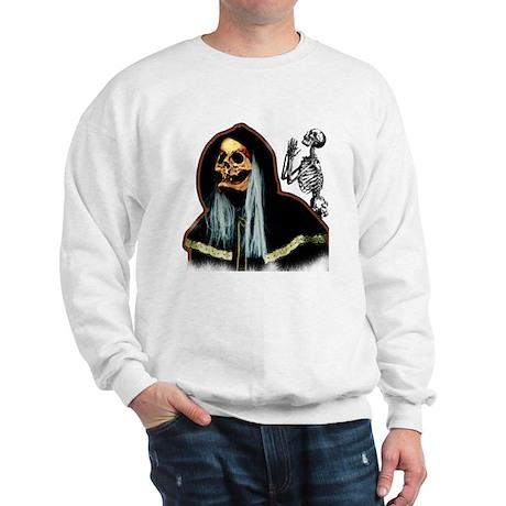 Happy Halloween Face Sweatshirt