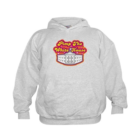 Pimp The White house Retro Kids Hoodie