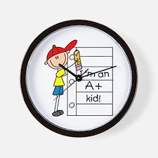 A Plus Kid Wall Clock