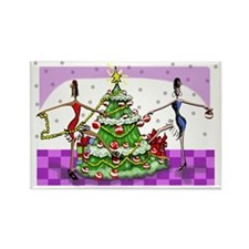 Sophisticated Holidays! Rectangle Magnet
