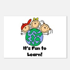 Fun to Learn Postcards (Package of 8)