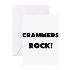 Crammers ROCK Greeting Cards (Pk of 10)
