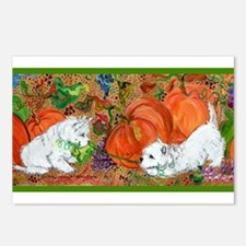 West Highland Terrier Halloween Postcards (Package