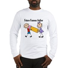Future Famous Author Long Sleeve T-Shirt
