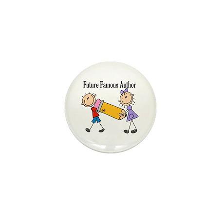 Future Famous Author Mini Button