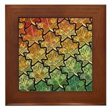 Celtic Leaf Transformation Framed Tile