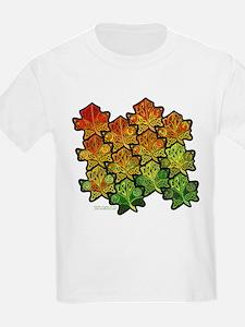 Celtic Leaf Transformation Kids T-Shirt