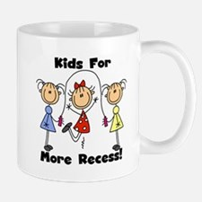 Kids for More Recess Mug