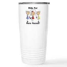 Kids for More Recess Travel Mug