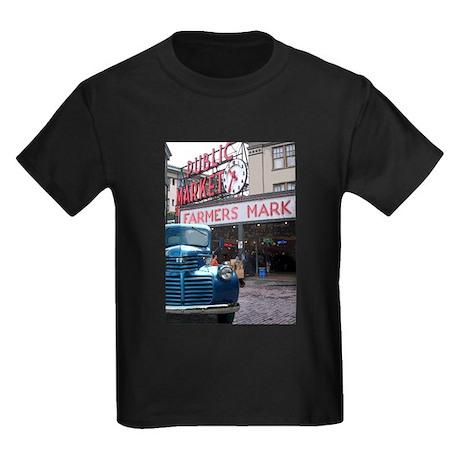 Pike Place Market Kids Dark T-Shirt