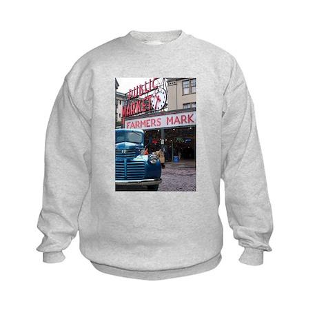 Pike Place Market Kids Sweatshirt