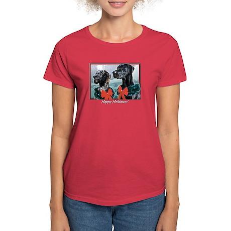 Happy Holidanes Women's Dark T-Shirt